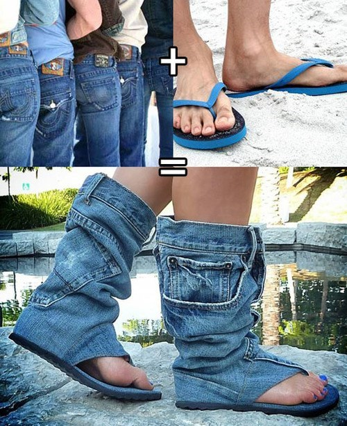 fashion Kill It With Fire jeans shoes sandals - 7902532864
