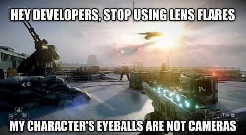 Battlefield 4,lens flare
