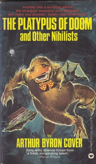 books platypus funny sci fi wtf want to read this