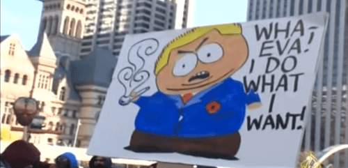 funny politics South Park signs rob ford - 7902609664