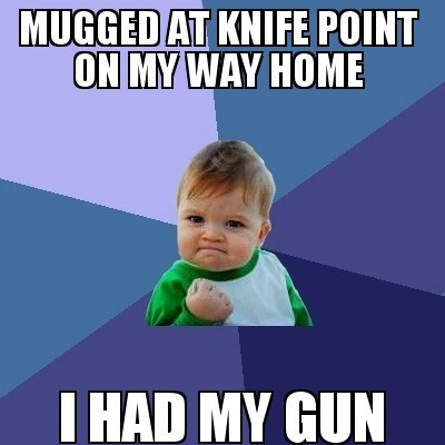 guns Memes success kid - 7902636032