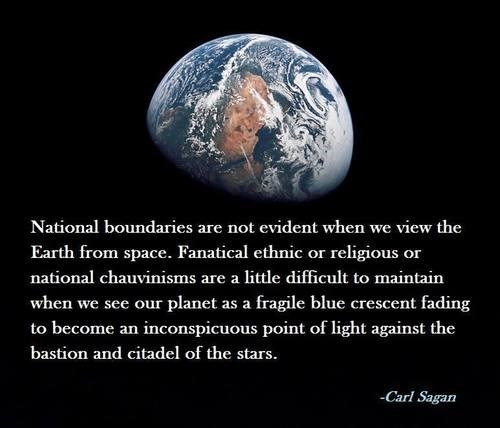 awesome earth carl sagan quote funny science politics - 7902699776