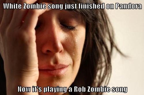 white zombie Rob Zombie pandora