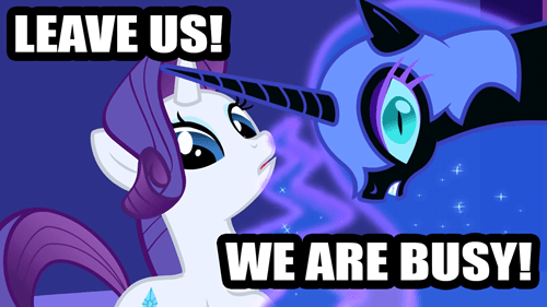 Awkward,princess luna,rarity