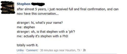puns,phd,names,failbook,g rated