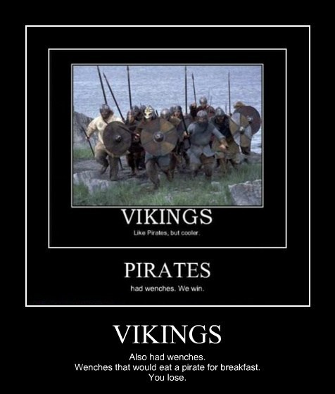 funny pirates wenches vikings - 7903327232