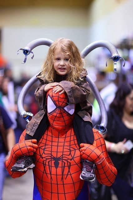 cosplay,cute,kids,Spider-Man