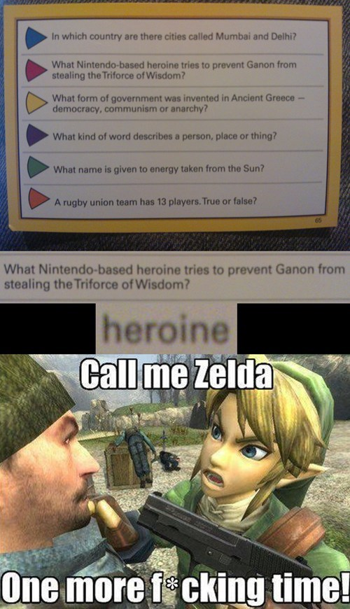 trivial pursuit,zelda,nintendo