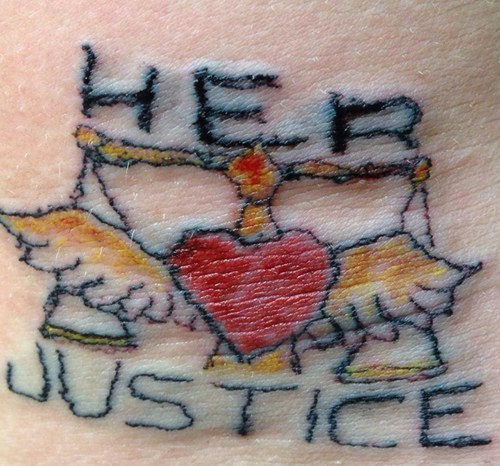 bad funny justice wtf tattoos - 7904595968