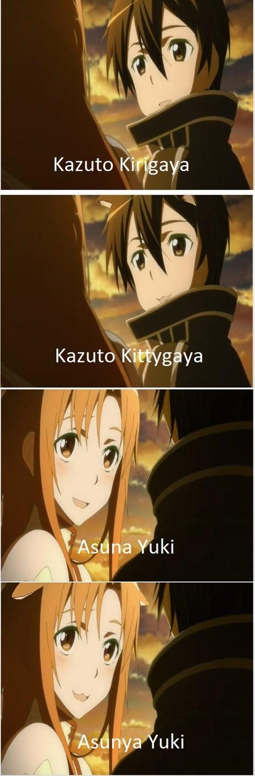 anime kawaii Sword Art Online sao - 7904918272