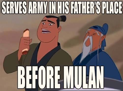 Mulan is Such a Poser