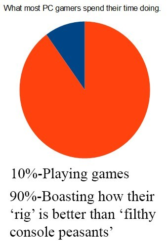 PC,Pie Chart,console,video games