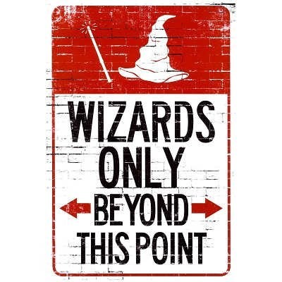 for sale Harry Potter signs wizards - 7905065472