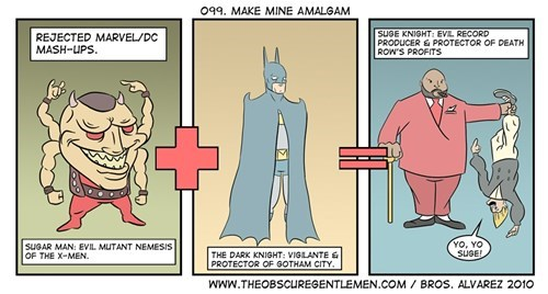 batman,funny,superheros,x men,Suge Knight,web comics
