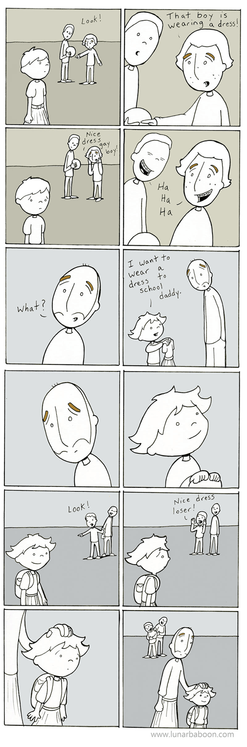 feels,dresses,funny,parenting,web comics