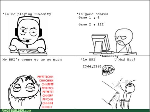 computer guy table flipping trollface Lumosity - 7905407232