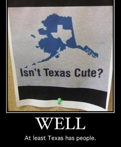alaska funny texas people
