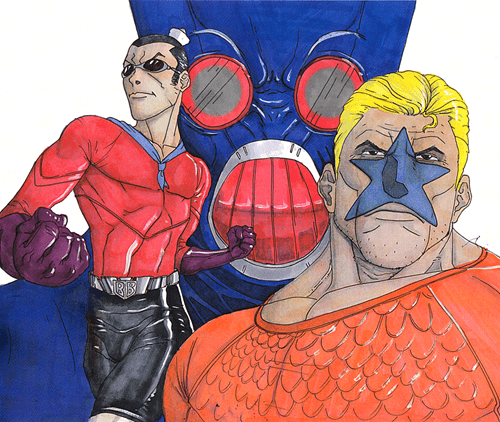 barnacle boy,Fan Art,mermaid man,SpongeBob SquarePants