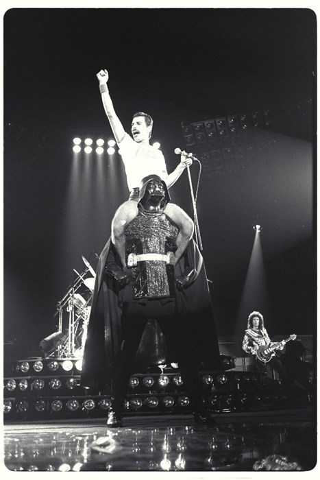 darth vader,queen,freddie mercury
