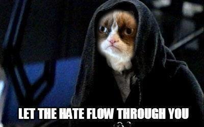 emperor star wars sith lord Grumpy Cat
