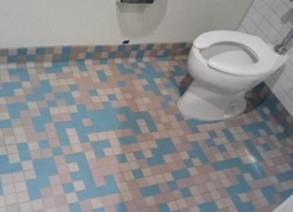 bathroom video games tile space invaders - 7905900288
