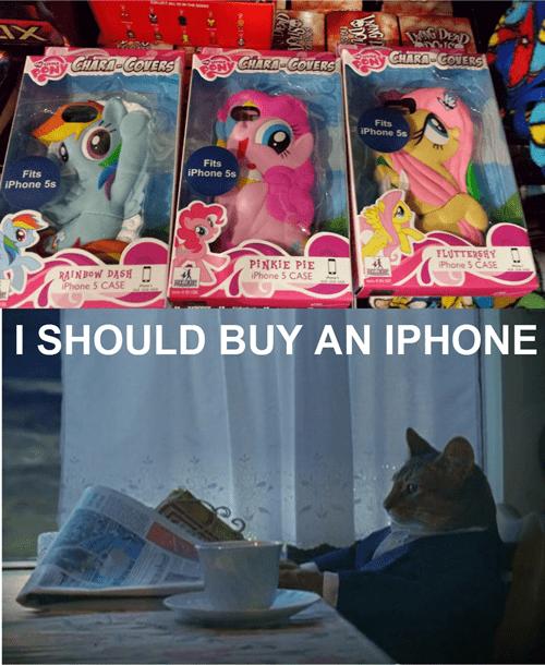 cat pony iphone case iphone - 7905912576