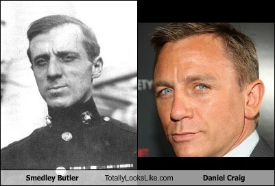Daniel Craig,funny,totally looks like,smedley butler