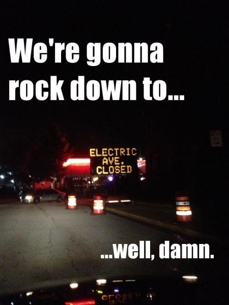 electric avenue,Music,road closed,g rated