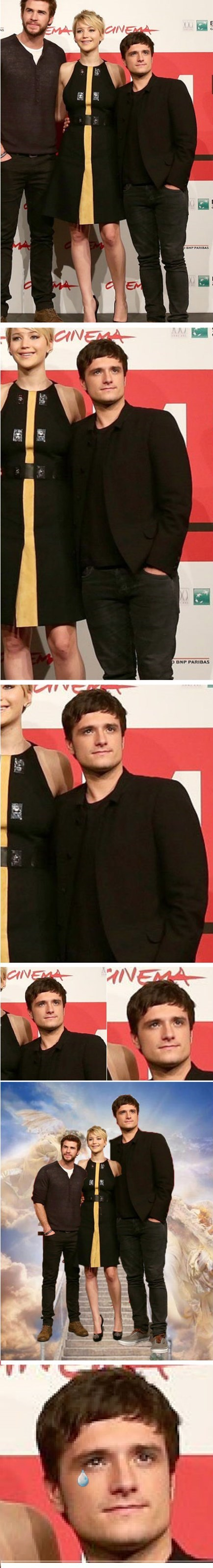 hunger games josh hutcherson short peeta - 7906590720