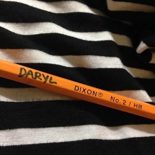 daryl dixon,pencil