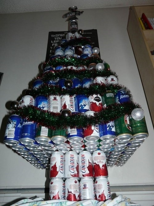 beer christmas funny tree - 7906705664