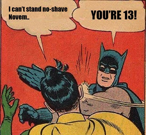 Memes superheroes no shave november - 7906792960