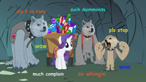 Doge and Pony Show