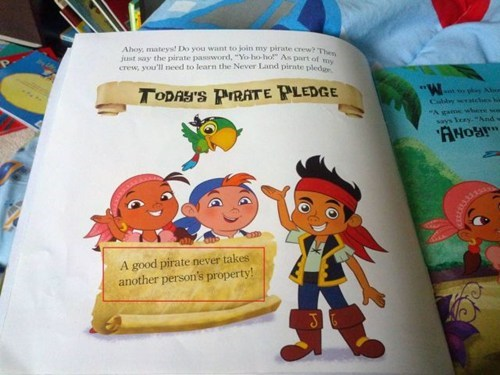 What Are We Teaching Kids About Pirates These Days?