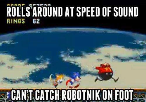 robotnik,video game logic,sonic