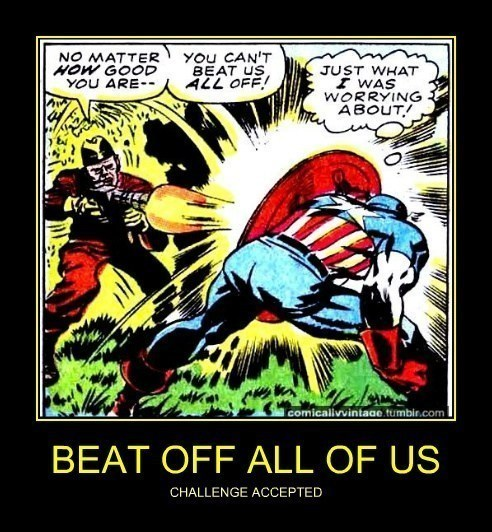 captain america that sounds naughty off the page - 7907098880