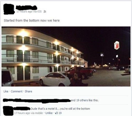 Drake,motel 6,super 8 motel,failbook,g rated