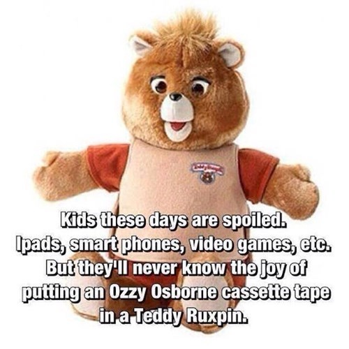 teddy ruxpin,nostalgia,technology,these days