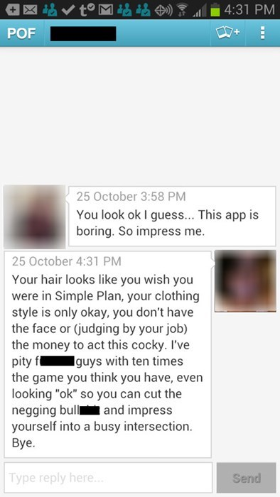 cocky and funny online dating
