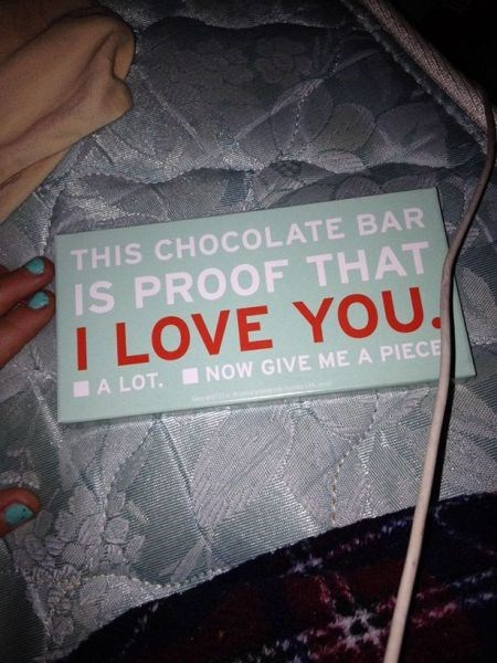 gift chocolate funny