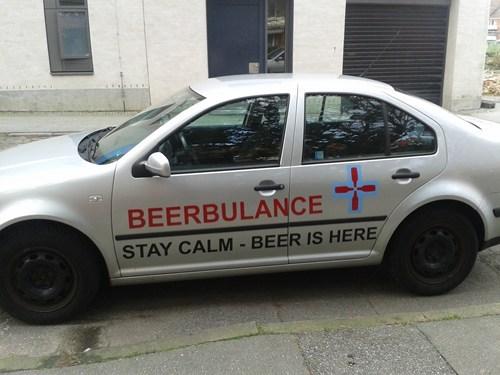 beer ambulance funny - 7907629056