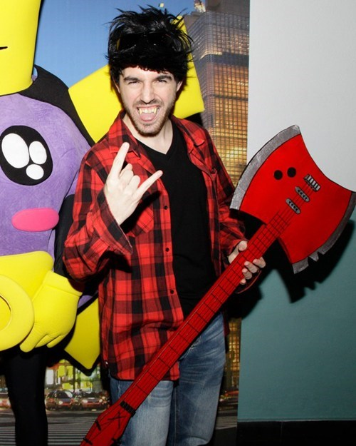 adventure time,cosplay,cartoons,marshal lee