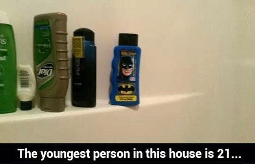 not just for kids shampoo batman - 7907988224