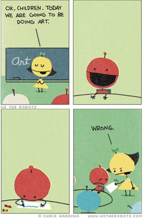 art funny robots sad but true web comics - 7907998720