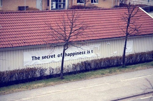 happiness,the secret to happiness