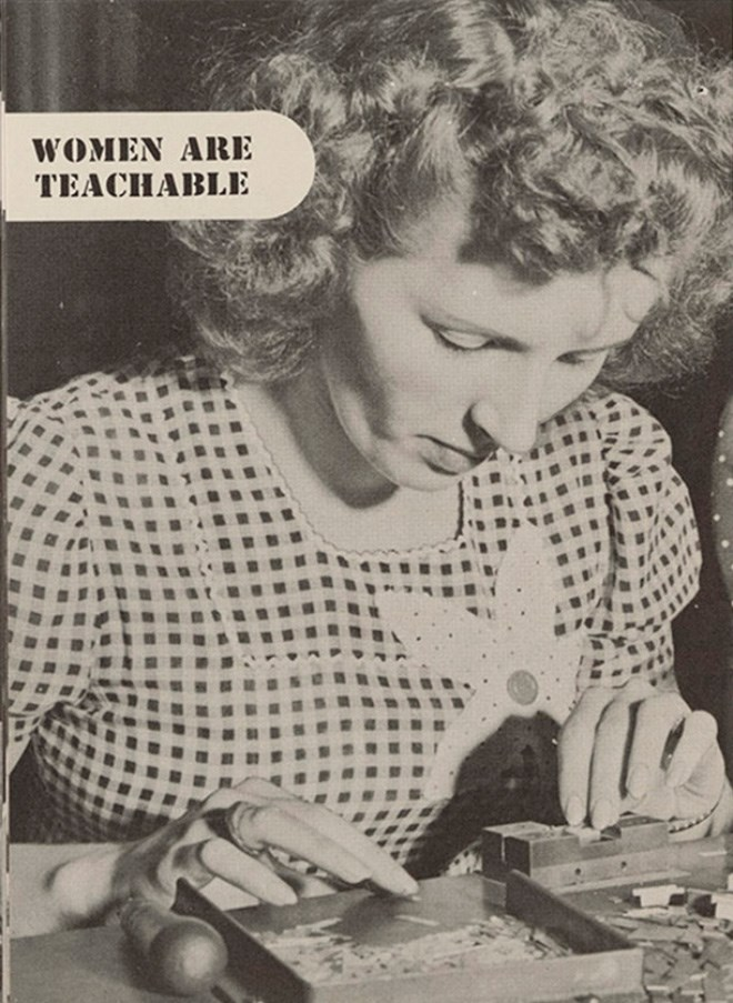 guide work booklet 1940 women vintage - 7908101