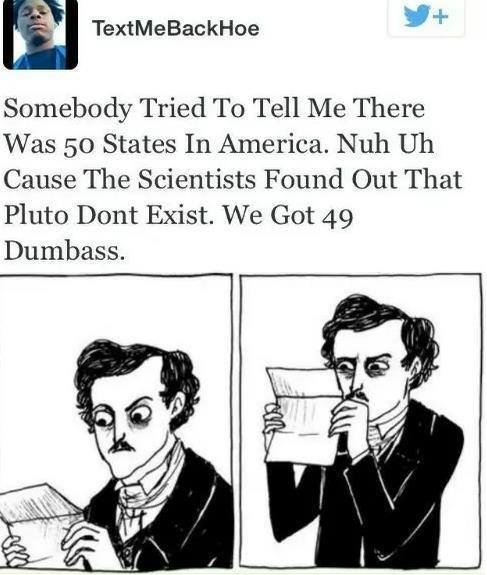 wtf planets 50 states education funny - 7908120320