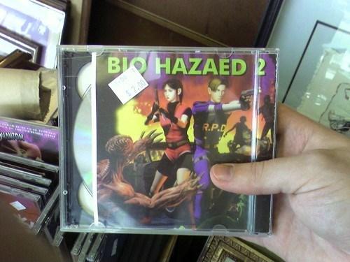 seems legit resident evil biohazard 2 - 7908199424