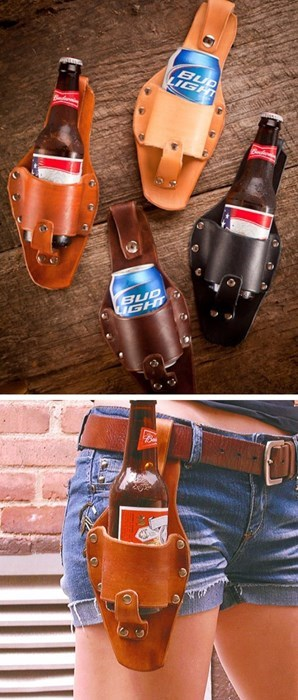 beer awesome holster funny invention - 7908386304