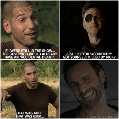the governor shane walsh The Walking Dead - 7908408832